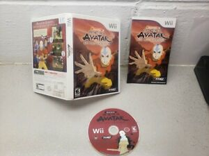 Avatar-The-Last-Airbender-Nintendo-Wii-2006-Complete-in-Box-Near-mint-to-Mint