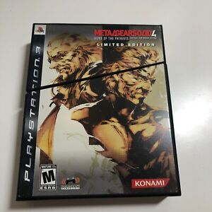 Metal Gear Solid 4 Limited Edition PS3  Complete, VG