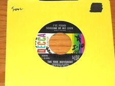 "SOUL/POP 45 RPM - FREE MOVEMENT - DECCA 32818 -""I'VE FOUND SOMEONE OF MY OWN"""