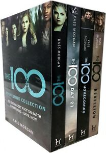 Kass-Morgan-The-100-Series-Collection-4-Books-Set-Rebellion-Days-21-Homecoming