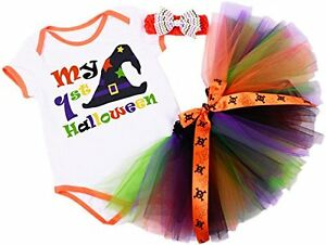 1ST-HALLOWEEN-WITCH-ROMPER-Colourful-Tutu-Skirt-HB-and-My-1st-Halloween-Romper