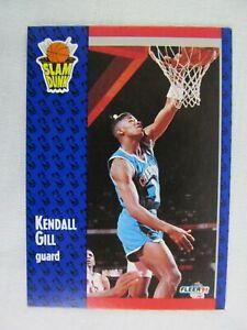Kendall-Gill-Charlotte-Hornets-1991-Fleer-Basketball-Card-232