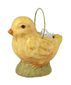 Bethany-Lowe-034-Mini-Chick-Bucket-034-Paper-Mache-TJ4203