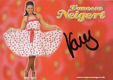 Originalautogramm - Vanessa Neigert