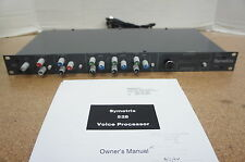 ‡ RARE! ‡ Symetrix 528 Voice Processor Jim Williams Mod Audio Upgrades Mic Pre