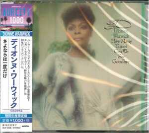 DIONNE-WARWICK-HOW-MANY-TIMES-CAN-WE-SAY-GOODBYE-JAPAN-CD-BONUS-TRACK-Ltd-Ed-B63