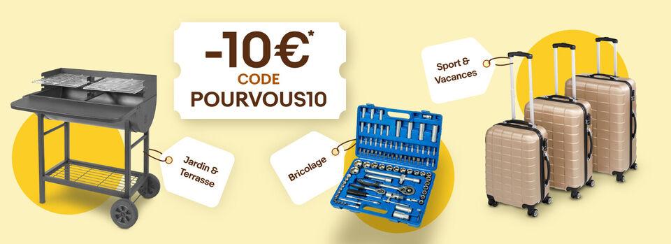 Je fonce - 10€ offerts* sur les tops de l'été !