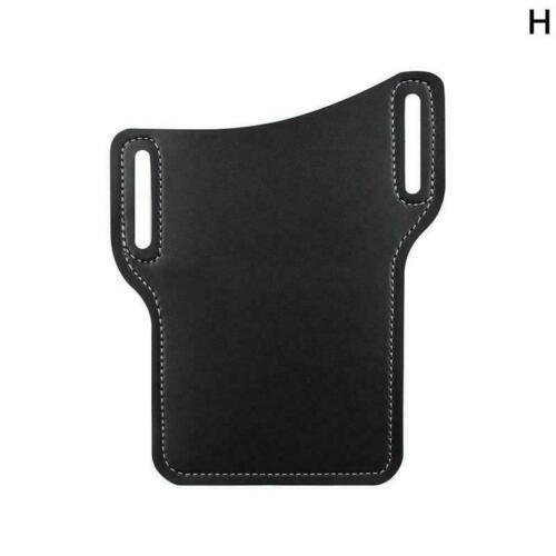Men Phone Wallet Cellphone Loop Case Belt Waist Bag Leather Props Purse Y1K8