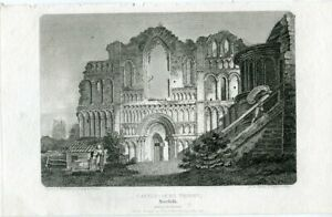 Castle-Acre-Priory-Engraving-IN-1812-By-J-Smith-Of-A-Drawing-Of-E-Dayes