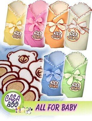 * Orsi E Luna * Irrigidimento Baby Neonato Swaddle Wrap Piumino Sacco A Pelo Coperta-