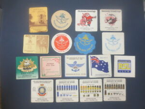 17-different-DENILIQUIN-R-S-L-CLUB-Ltd-Special-Issued-COASTERS