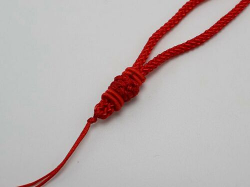 5 Red Chinese Thread Knotted Silk Love Rope String Necklace for Jade pendant