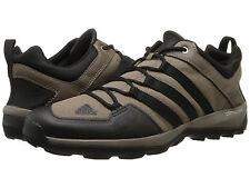 Men's adidas Outdoor Daroga Plus Canvas Grey Blend/Black/Bold Orange SZ 11.5