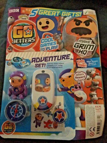 Set Jetters Adventure Go xuli Toy Issue 13 MAGAZINE CBeebies
