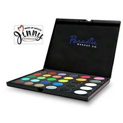 Mehron Paradise AQ Pro Face Paint Palettes 30 Colors