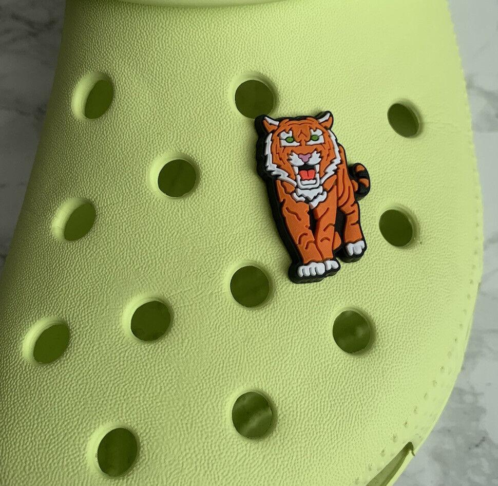 Tiger PVC Croc Charm Shoe Accessories