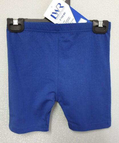 BNWT Girls Sz 14 LW Reid Royal Elastic Waist School Sport Athletic Bike Shorts