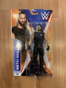 WWE WCW TNA NXT Wrestling Action Figure Retro Seth Rollins