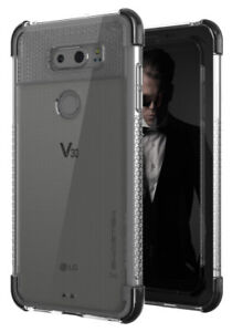 For-LG-V30-Case-Ghostek-COVERT2-Ultra-Slim-Clear-Silicone-TPU-Shockproof-Cover