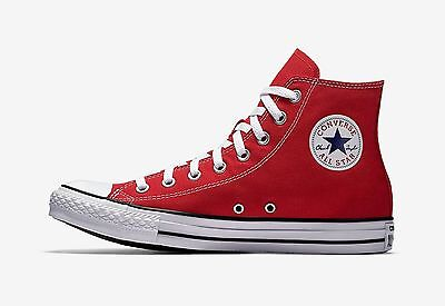 CONVERSE CHUCK TAYLOR ALL STAR HI RED/WHITE M9621 MEN/WOMEN