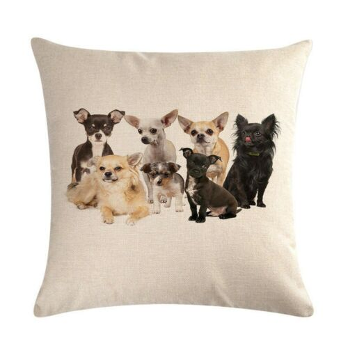 Animal Cotton Linen 18/'/' Pillow Case Sofa Waist Throw Cushion Cover Home Decor