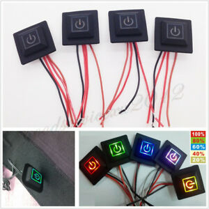 5Level-5Color-LED-Heated-Vest-Gloves-Knee-Pad-Temperature-Controller-Switch-2-5A