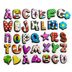 buchstaben 3d sticker alphabet aufkleber kinder lernen herz stern blume ebay. Black Bedroom Furniture Sets. Home Design Ideas