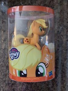 Hasbro My Little Pony APPLEJACK Vinyl Figure Orange Yellow Horse NEW!!!