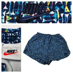 Vintage-Nike-Shorts-All-Over-Print-Abstract-Geometric-90s-Women-s-Large-Liner