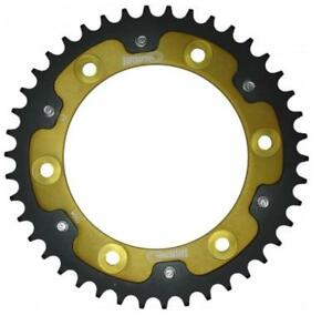Rst-990-42-Gld 42T New Supersprox Gold Stealth Sprocket Chain Size 520