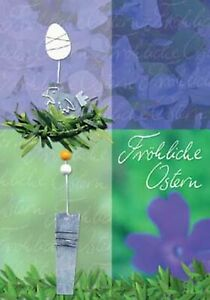 Lifestyle-Oster-Greeting-Card-Folding-Card-Osterkarte-Merry-Grusse-Postcard