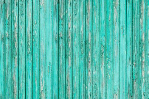 18 x 12 Green Rustic Wood Grain HTV Heat Transfer Printed Craft Vinyl Sheet Aqua