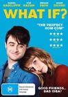 What If DVD Daniel Radcliffe Region 4