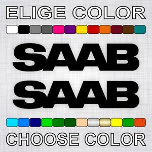 PEGATINAS-SAAB-X2-vinilos-coche-autocollant-aufkleber-adesivi-sticker-auto-decal