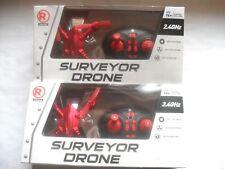 (((AS-IS))) LOT OF 2 RADIOSHACK SURVEYOR DRONE