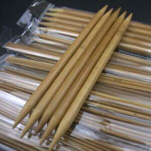 75pcs-2-10mm-Carbonized-Bamboo-Double-Pointed-Crochet-Knitting-Needles-Craft-DIY