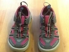 0872459b1 item 1 TEVA Water Sandal Shoe Pink Grey White Girls Toddler Closed Toe 11  EUC USA -TEVA Water Sandal Shoe Pink Grey White Girls Toddler Closed Toe 11  EUC ...