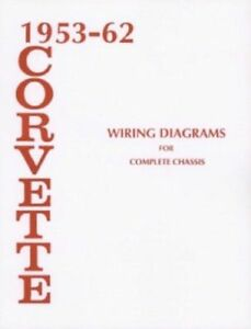details about 1955 to 1962 corvette wiring diagram 1955 1956 1957 1958 1959 1960 1961 wiring diagram 1956 chevy ignition