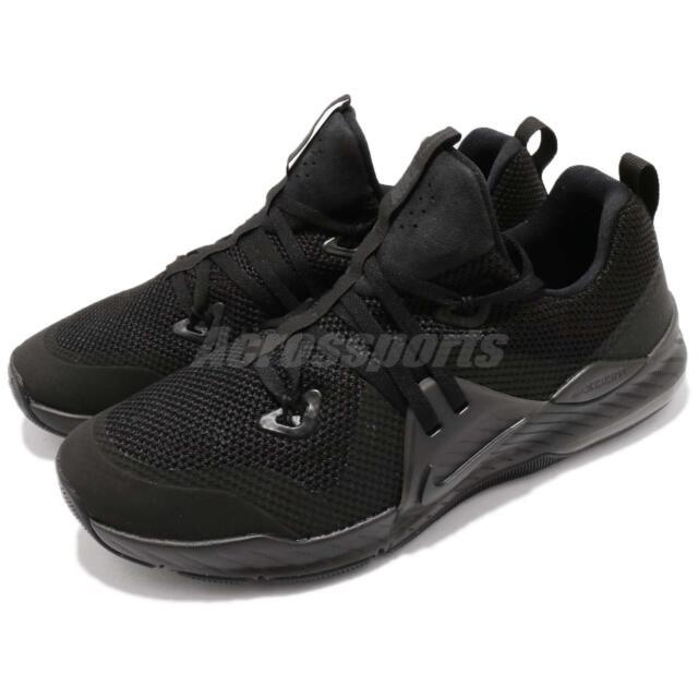 2f266cf0e57b9 Nike Zoom Train Command Triple Black Men Cross Training Shoes Sneaker 922478 -004