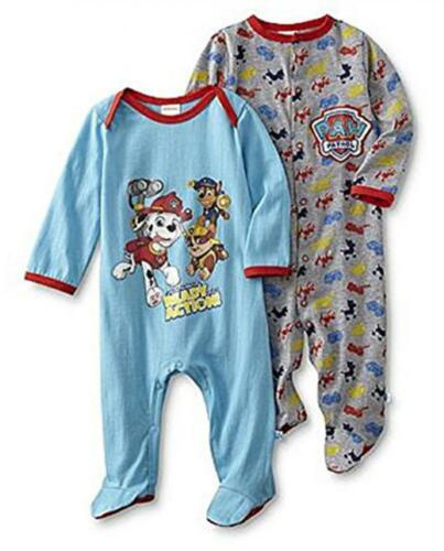 Paw Patrol Infant Boys 2 Pack Coverall Size 0//6M