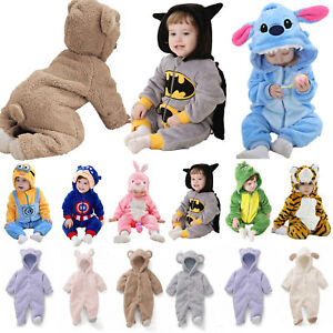 Newborn-Baby-Kid-Cosplay-Pajamas-Kigurumi-Animal-Costume-Romper-Outfit-Clothes