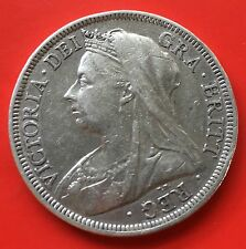 GB Victoria half Crown silver 1900