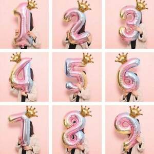 32-inch-Crown-Number-Foil-Balloon-Digit-Rainbow-Happy-Birthday-Party-Decoration
