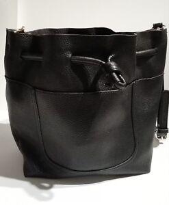 acheter en ligne 946a8 edfda Détails sur Zara SAC BANDOULIERE FEMME Noir