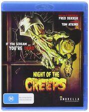 NIGHT OF THE CREEPS    - Blu Ray - Sealed Region B