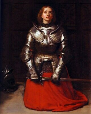 French Heroine Joan of Arc The Maid of Orleans by Millais 6 Sizes! New Photo