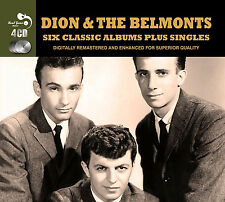 Dion & The Belmonts SIX (6) CLASSIC ALBUMS+ Presenting RUNAROUND SUE New 4 CD