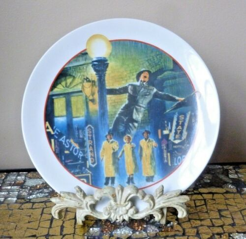 SINGIN' SINGING IN THE RAIN AVON IMAGE OF HOLLYWOOD COLLECTOR'S PLATE