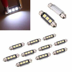 10stk 39mm soffitte 5050 smd led birne canbus auto innenraum beleuchtung lampe ebay. Black Bedroom Furniture Sets. Home Design Ideas