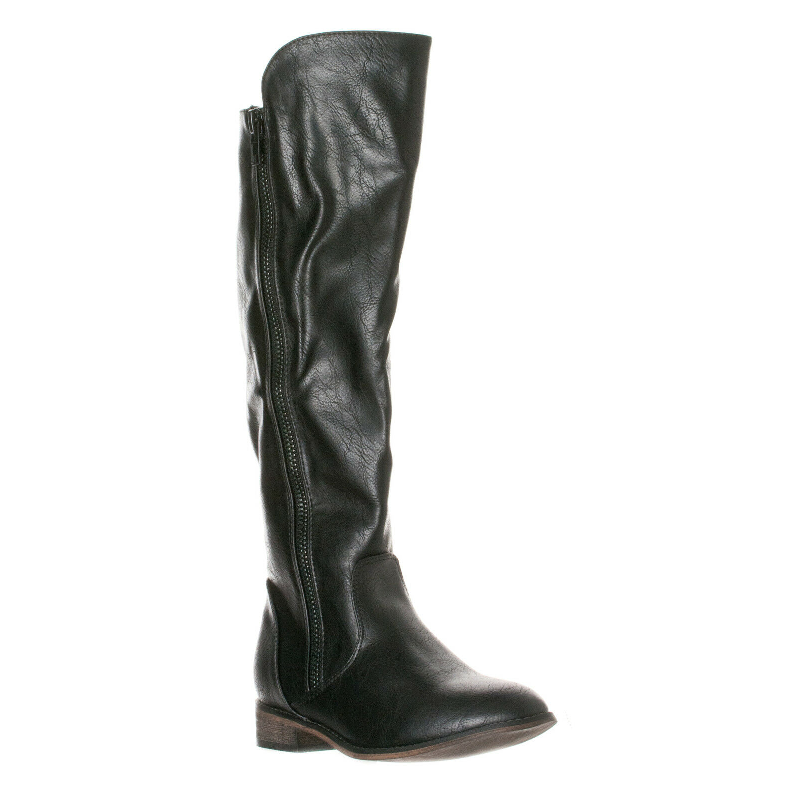 Breckelle's Women's Clayton-12 Zipper Riding Knee High Boots